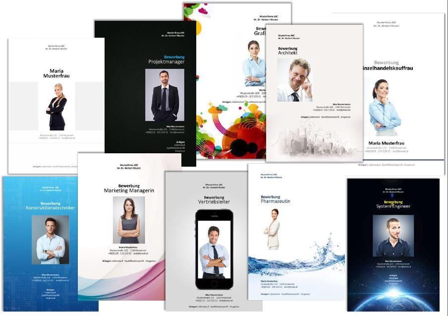 design layout - Design Bewerbung